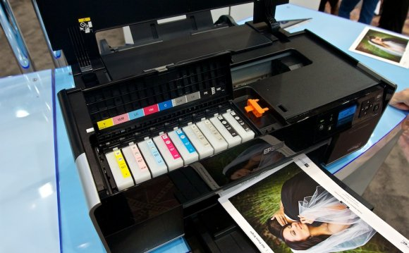Inside the Epson R3 Printer