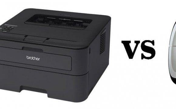 Laser printer, printer