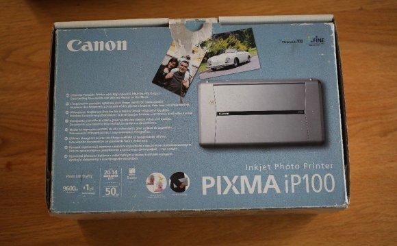 Canon PIXMA iP100 portable
