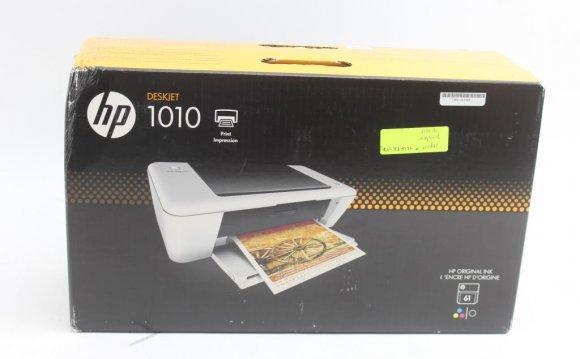 HP Deskjet 1010 Color Inkjet
