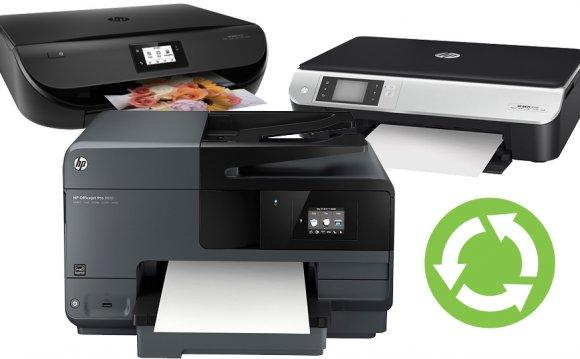 Printers, recycling