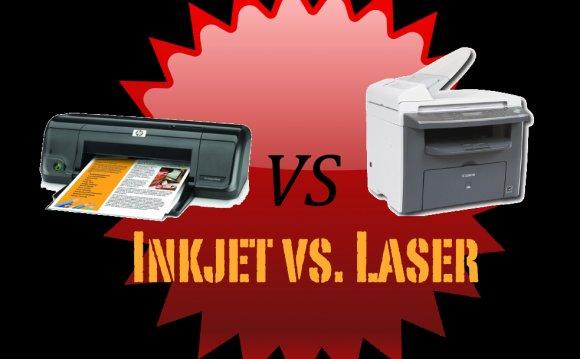 Laser printers versus Inkjet