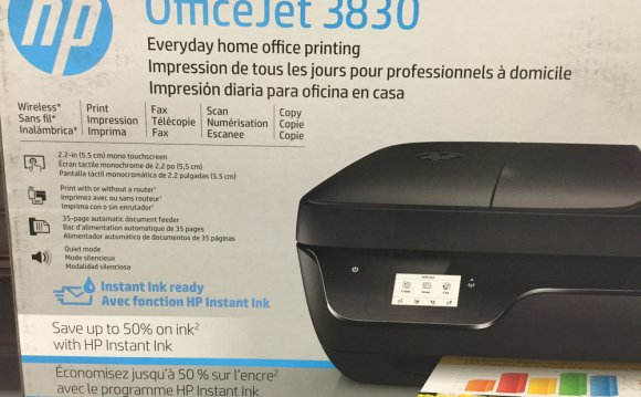 New HP OfficeJet 4635 E All In