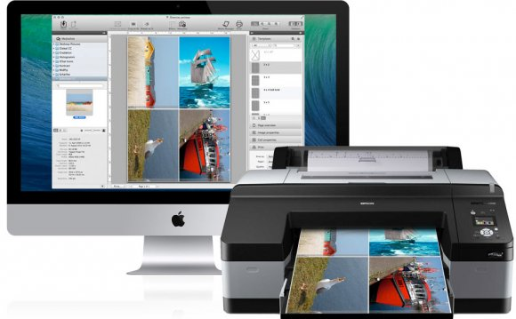 Image of PrinTao on iMac and