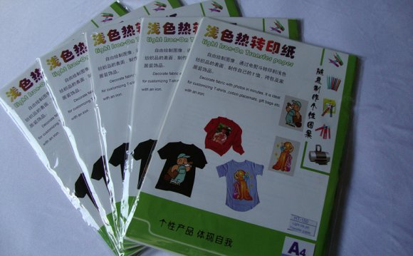 T-Shirt transfer paper For Ink Jet printers