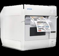 Epson C3400 inkjet label printer
