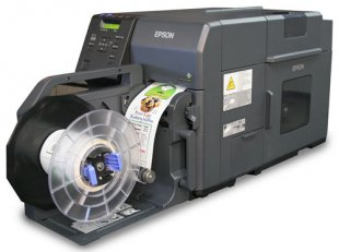 Epson C7500 inkjet label printer