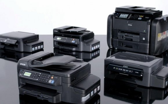 Inkjet printers with ink tank