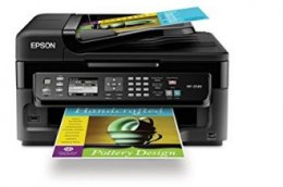 Epson WorkForce All-In-One wi-fi colors Inkjet Printer WF-2540, Ebony