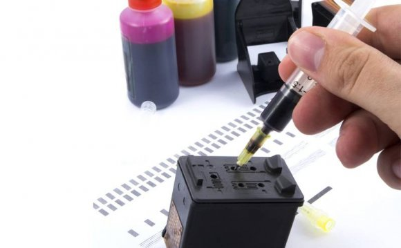 Inkjet Cartridge refilling