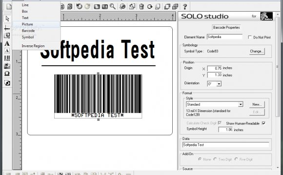 Label software for Zebra Printers