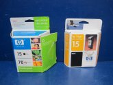 HP 15 Inkjet Printer cartridges